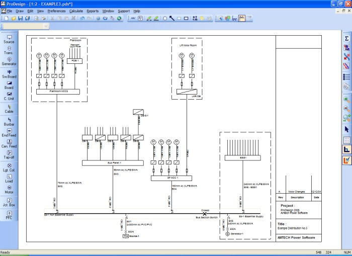 Amtech Power Software - ProDesign